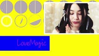 hibiku/山村響 「Love Magic ~素直になれないアタシが最高に可愛くなれる魔法~ 」 Music Video. 山村響 検索動画 10