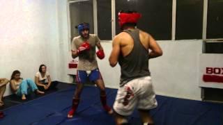 MMA Georgia - Fighting  workout 3