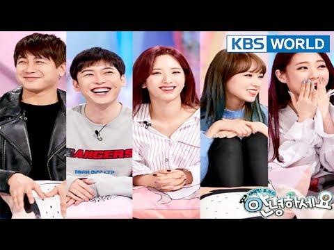 Guests : Kim Seunghyeon, Choi Jaewoo, WJSNs Hello CounselorENG,THA20180319