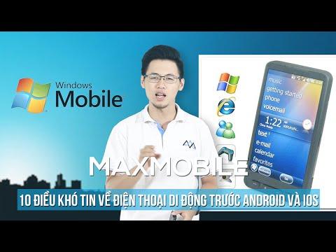 [Phần 2] Top 10 điều khó tin về điện thoại di động trước thời kỳ của Android và iOS