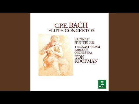 Flute Concerto In G Major, Wq. 169: II. Largo (Cadenza By Hünteler)