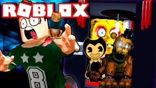 GOLDEN FREDDY IN THE ROBLOX FEAR ASCENSEUR FNAF EN ROBLOX