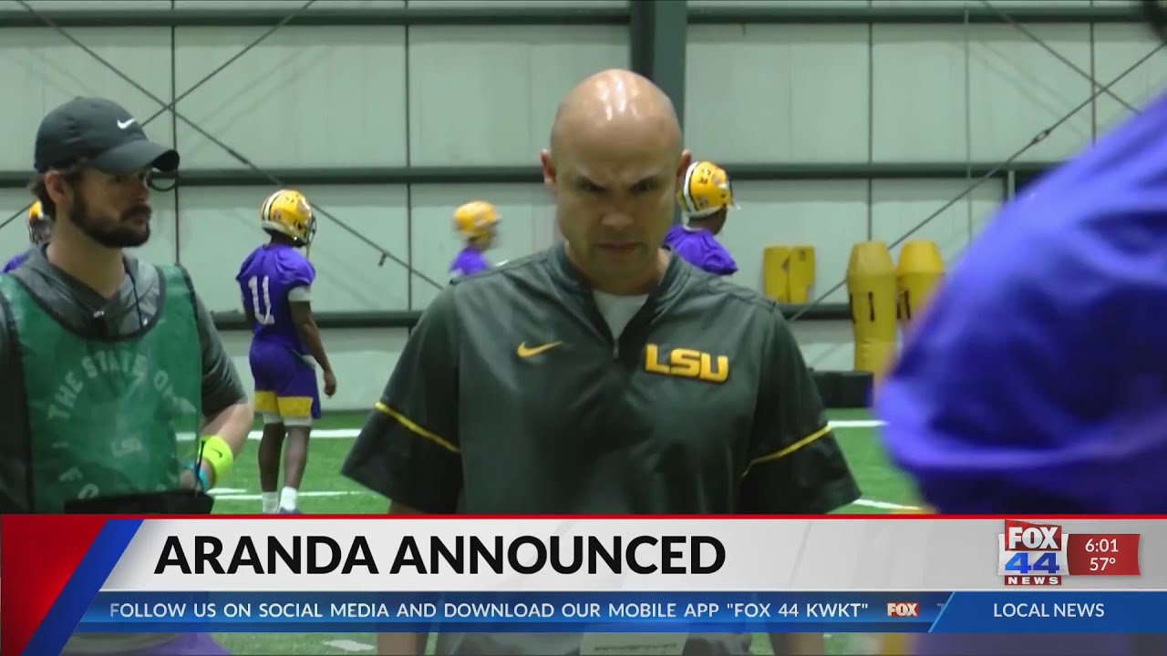 LSU defensive coordinator Dave Aranda named Baylor coach: 'I'm ...