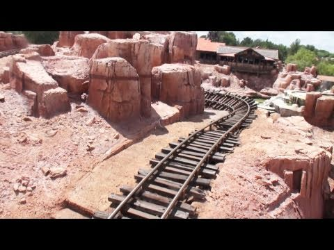 Disney World Big Thunder Mountain Railroad POV Magic Kingdom Florida
