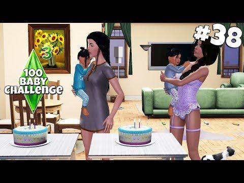 Zwillinge haben GEBURTSTAG! - Die Sims 3 100 Baby Challenge Part 38 | simfinity