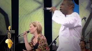 Dido / Youssou N'Dour - 7 Seconds (Live 8 2005)