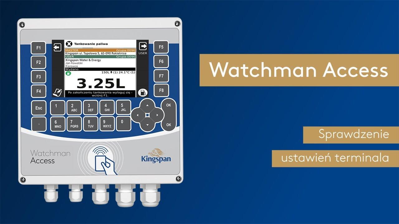 Download Jak sprawdzić ustawienia terminala? Watchman Access FAQ
