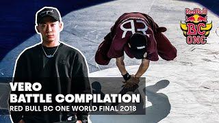 Kompilacja setów BBoy Vero  | Red Bull BC One World Final 2018