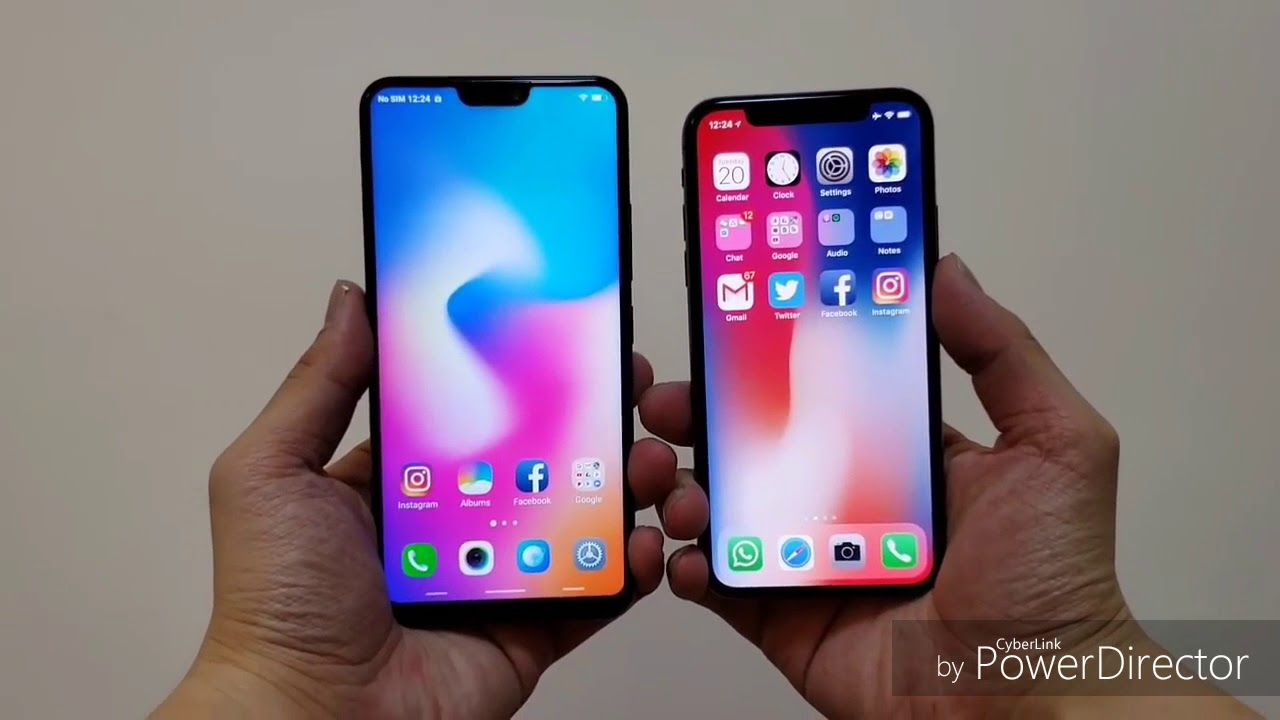 VIVO V9 smartphone full screen