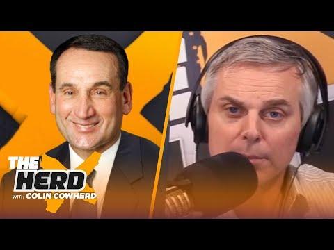 Coach K On Why He Turned Down Celtics HC Job, Talks Coaching Zion, LeBron, Jordan, Kobe | THE HERD