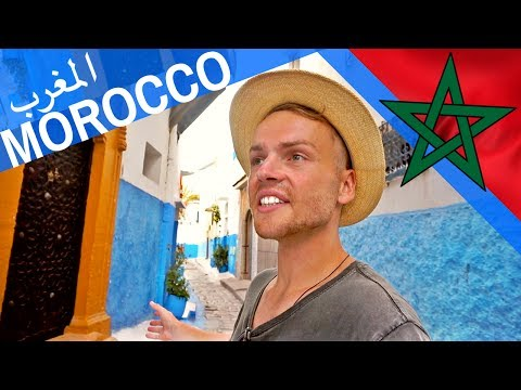 FOLLOW ME around MOROCCO المغرب // I LOVE RABAT - Travel Vlo