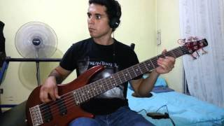 IRON MAIDEN - The Reincarnation Of Benjamin Breeg. Bass Cover by Samael.