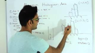 Maximum Rectangular Area in Histogram