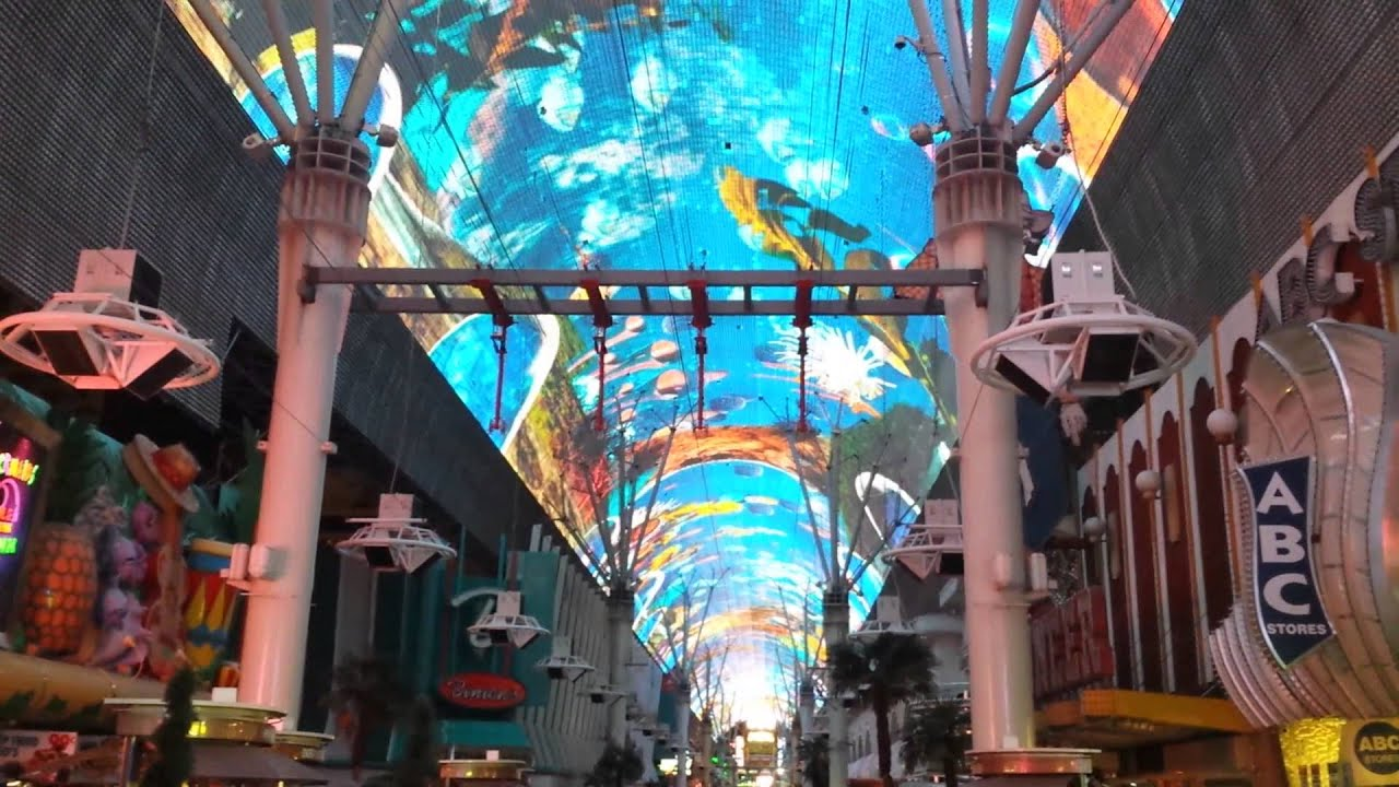 Fremont Street Experience Las Vegas - Canopy of Lights & Fremont Street Experience Las Vegas - Canopy of Lights - YouTube