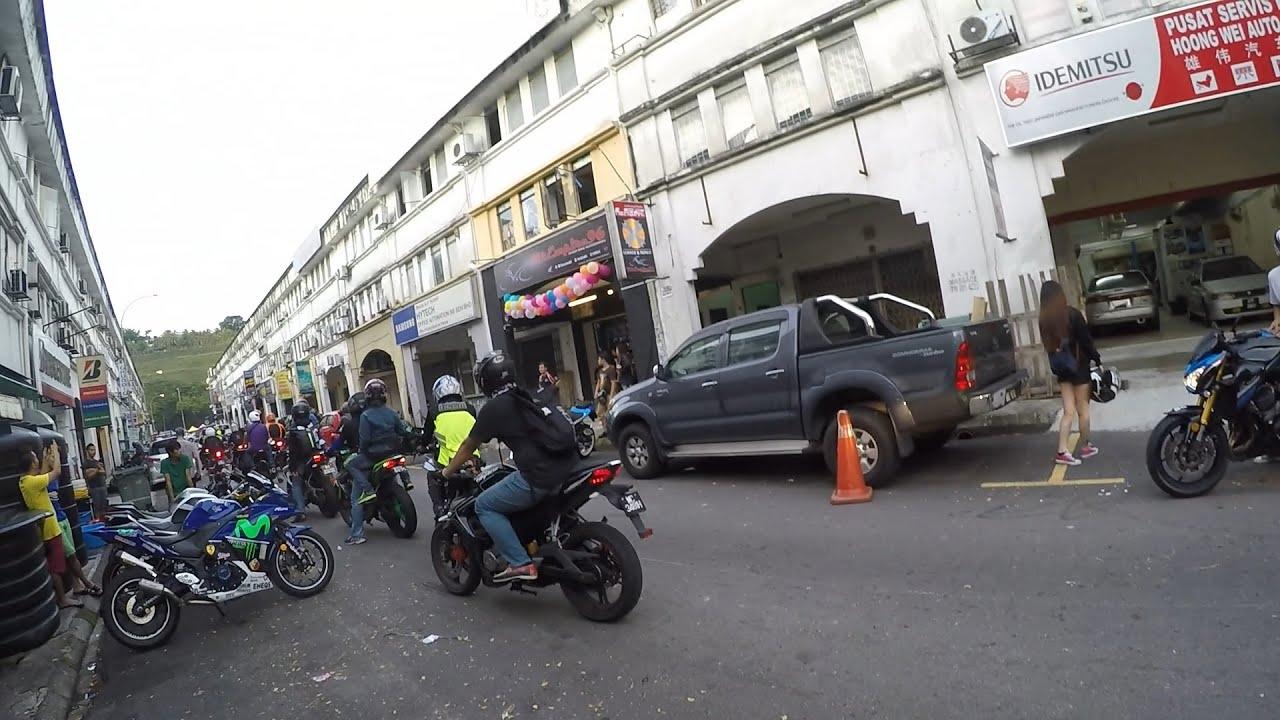 Bike Empire 96 Grand Opening Kl Ride With Kawasaki Yamaha And