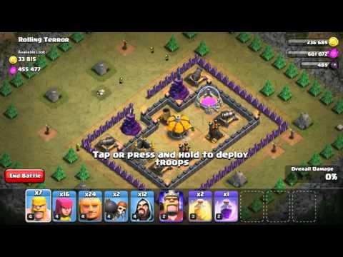 Clash of Clans - Goblin Campaign - Rolling Terror