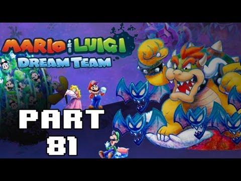Mario Luigi Dream Team Part 33 Boss 6 Drilldigger