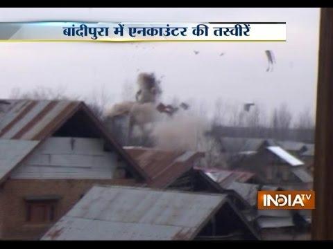 Watch Video of Kashmir Encounter, 3 LeT Militants Killed in Bandipora