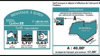 Examen Taxi de  Montréal: Lois et Règlements