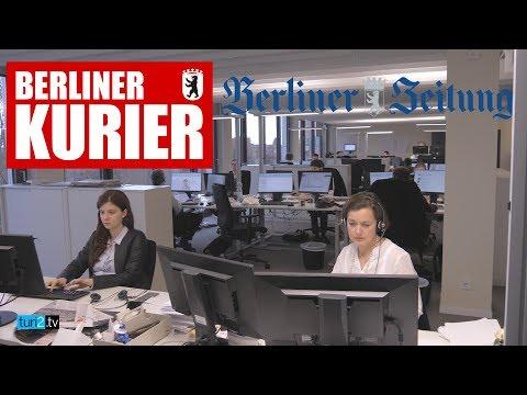 """Berliner Zeitung"" Und ""Berliner Kurier"" – Jochen Arntz Zeigt Den Berliner Newsroom Von DuMont"