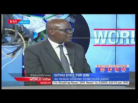 Kenya is tabling AG-Githu Muigai for ITLOS judge position: Felix Odhiambo-Maritime Law Expert pt2