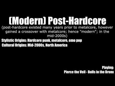 Styles of Metalcore & Metallic Hardcore