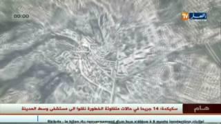 8 morts et 14 blessés après un autobus renversé à Skikda
