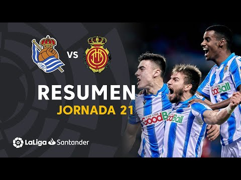 Resumen De Real Sociedad Vs RCD Mallorca (3-0)