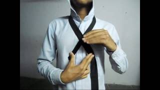 How to tie a tie hindi version how to tie a tie tie ko kis tarha bandhe video by 21st century style ccuart Images
