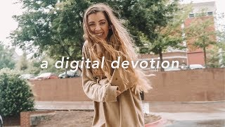 """a digital devotion."" - SPOKEN WORD"