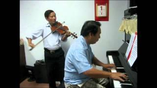 Quê hương (Lưu Cầu) - Violon: Công Đại và Piano: Thu Đông
