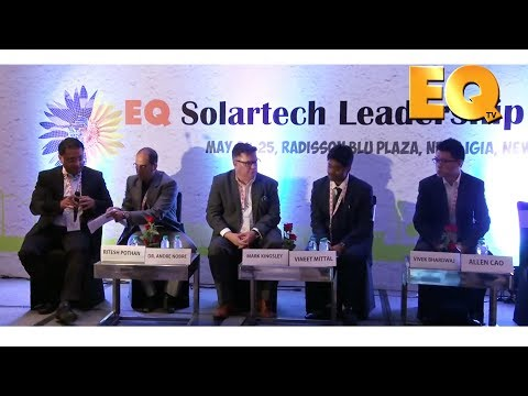 Technology Session at EQ Solartech Leadership Summit, New Delhi - Part 1