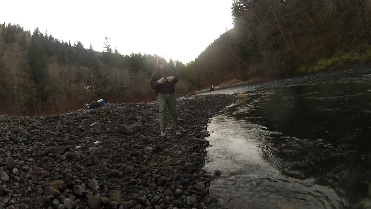 Wilson river steelhead fishing 2013 youtube for Wilson river fishing report