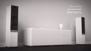 RAUMFELD Stereo L: WiFi tower speakers for the ultimate listening experience with streamed audio