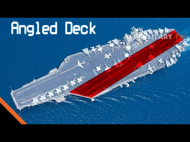 Why Aircraft Carriers Have an Angled Runway