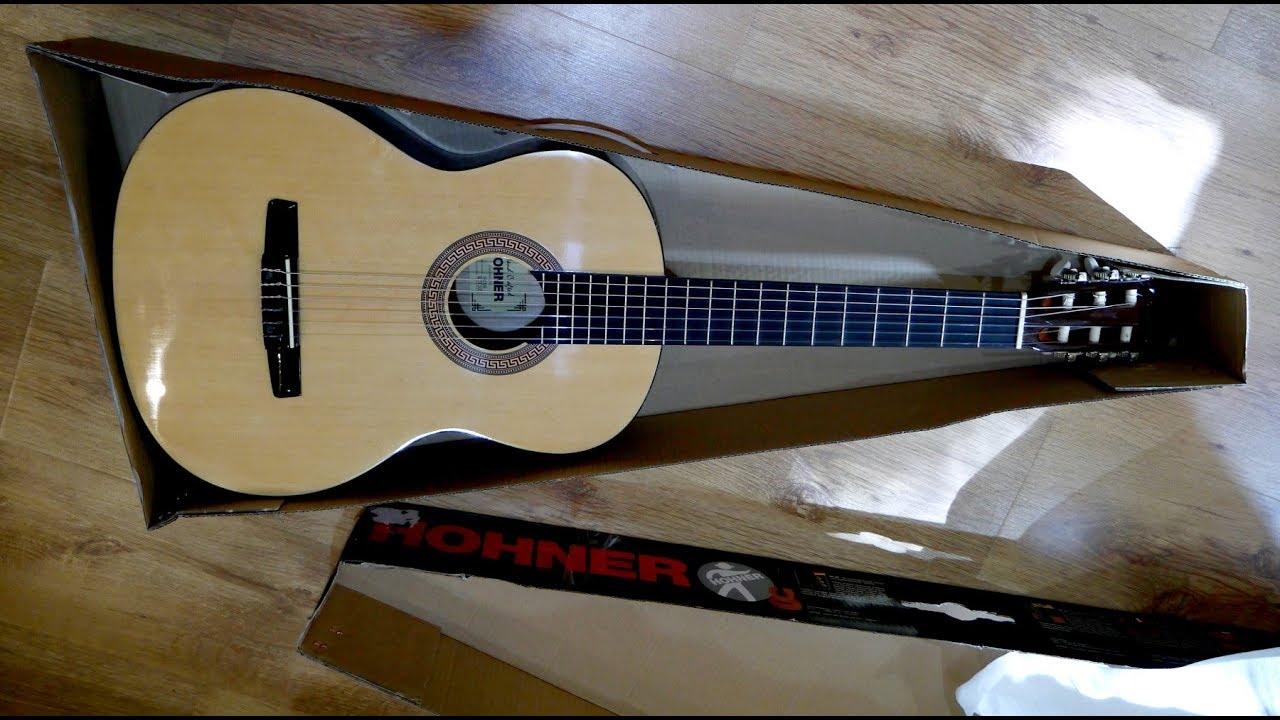 классическая гитара Hohner-hc06. - YouTube