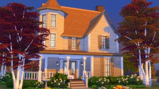 Building a Fall Inspired House in The Sims 4 (Streamed 10/3/20)
