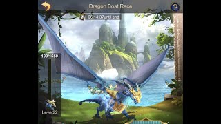 The Dragon Boat Race Event, use Gems efficiently!