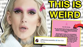 JEFFREE STAR RESPONDS TO MORPHE