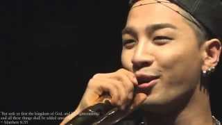 140627 - TAEYANG - Eyes, nose, lips - acca.  ver. - Surprise mini concert with genie in Busan