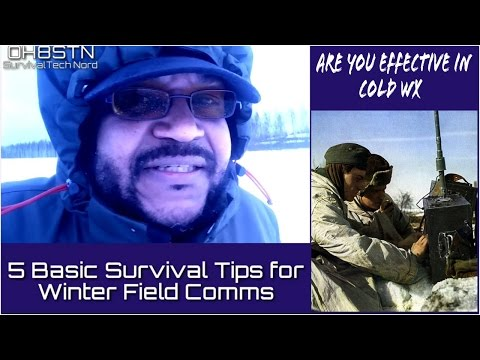 Winter Field Day 5 Basic Winter Survival Tips