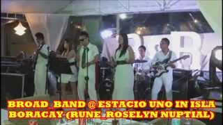 Broad_Band @ Estacio Uno in Boracay (Wedding of Rune+Rose) Vid3