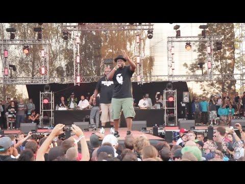 Gang Starr Foundation live @ Hip Hop Kemp 2015 [Jeru The Damaja, Big Shug, Lil Dap of Group Home]
