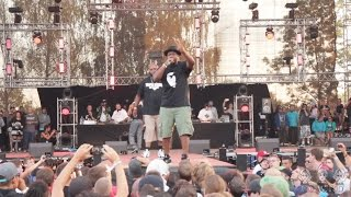 Gang Starr Foundation live @ #HipHopKemp2015 [Jeru The Damaja, Big Shug, Lil Dap of Group Home]