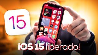 iOS 15 saiu! Veja as PRINCIPAIS NOVIDADES da nova atualização