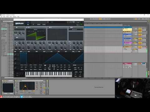 Producing & Recording Trippy PsyTrance FX...