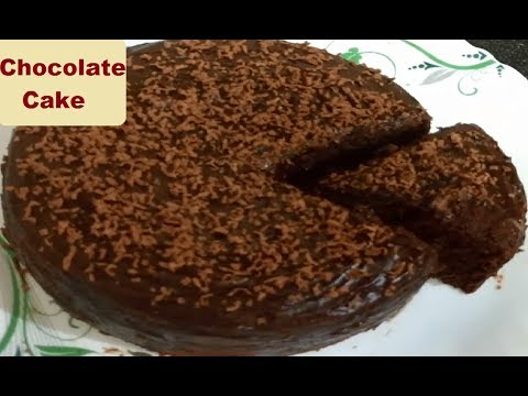 Chocolate Cake Without Oven Egg Less Chocolate Cake Recipe Cake Recipe In Pressure Cooker