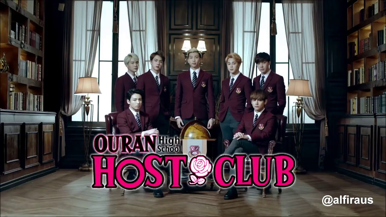 BTS x Ouran High School Host Club