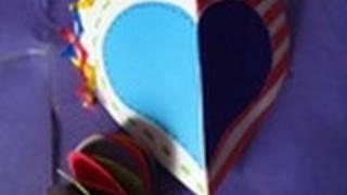 1 2 manualidad para san valentin tarjeta de corazon 3d floritere 2011
