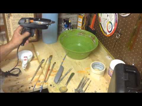 Basic tools for paper mache